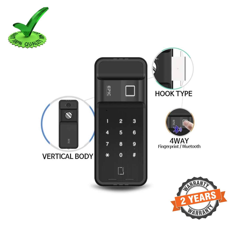 Epic ES-F500H 4way to Open Finger Print Smart Door Lock