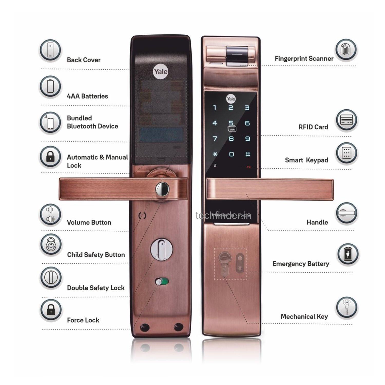 Yale YDM 7116 Digital Smart Door Lock